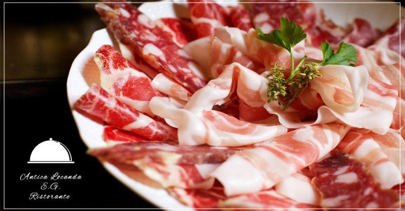 Offerta servizio degustazioni salumi specialità piemontesi a Torino e Santena - Antica Locanda