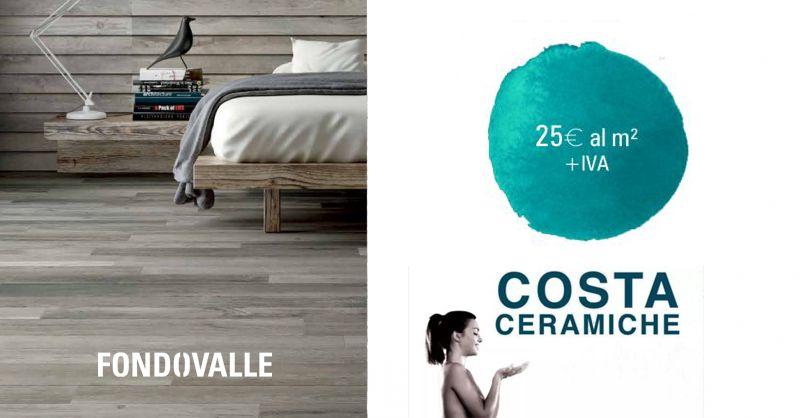 offerta pavimento Gres effetto legno fondovalle - occasione Fondovalle Chalet Maple
