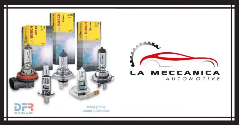 LA MECCANICA SRL - Occasione vendita ricambi auto e autotrazione BOSCH SELENIA CASTROL SHELL