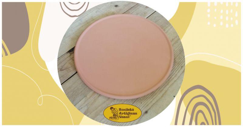 offerta vendita online teglia cuoci piadina in terracotta per cuocere la piadina romagnola